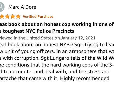 The 3-0 book review! Based on the True Story of the Largest Police Scandal in NYC's History!