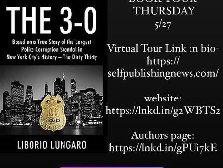 My Book, The 3-0 second tour session coming, Thursday, May 27th.