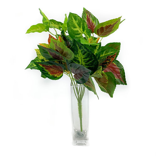 Artificial Evergreen Leaves Stem