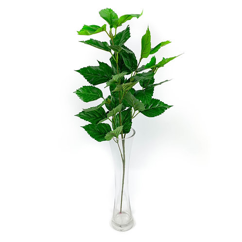 Artificial Hibiscus Leaves Spray
