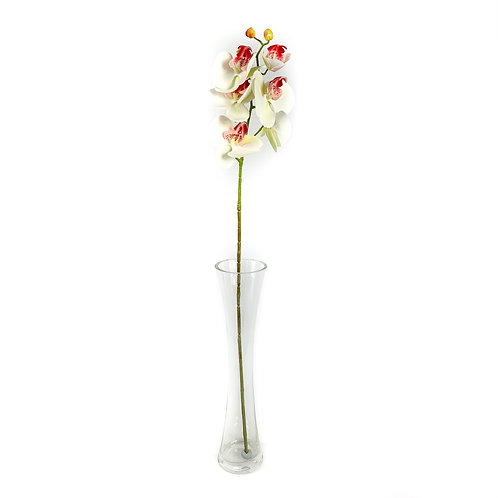 Artificial Real Touch Orchids White / Pink