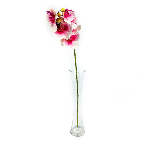 Artificial Real Touch Orchid White / Purple