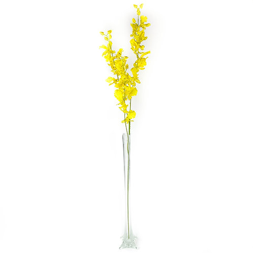 Artificial Dancing Lady Orchids Yellow