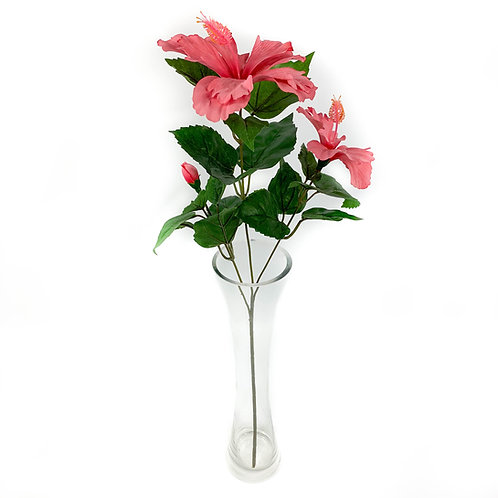 Artificial Hibiscus Flowers Spray