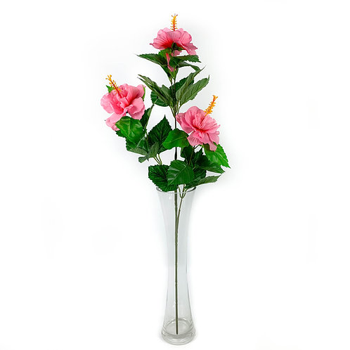 Artificial Hibiscus Flower Spray