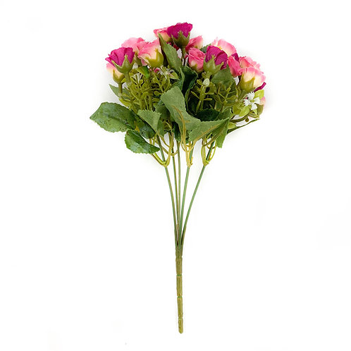 Artificial Cabbage Rose Bunches