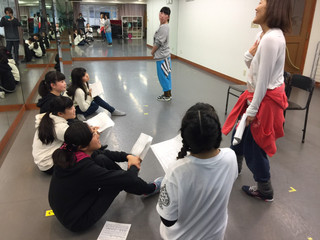 中・高校生ミュージカルワークショップ1回目終了!