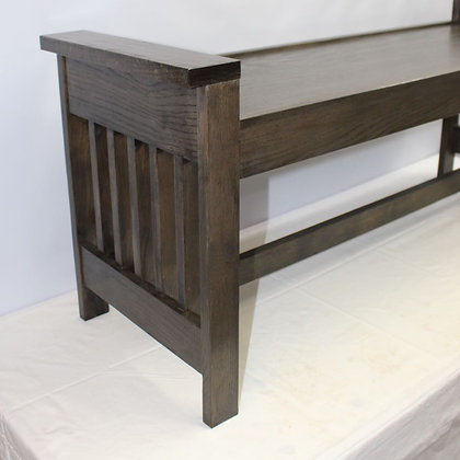 Mission Bench & End Table (WNW)