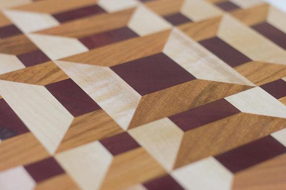 Lattice Cutting Board