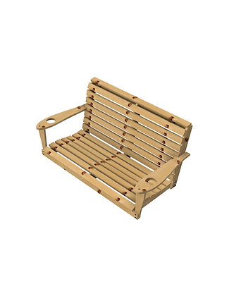Two Seat Porch Swing (BS)