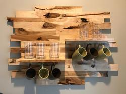 Knotty Maple Shelves