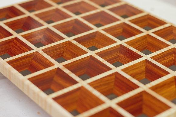 Waffle Cutting Board