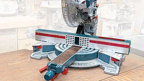 Miter Saw Dust Collection Fence (GFD)