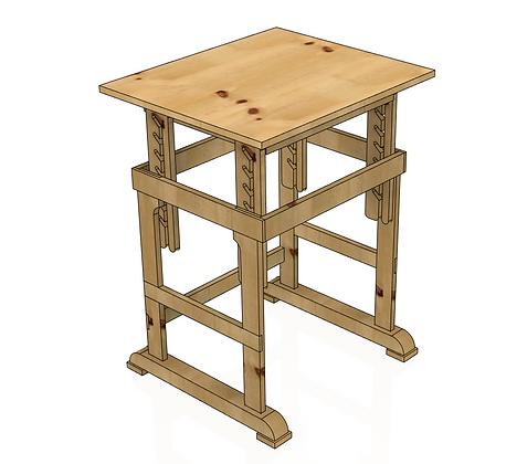 Fisher's Adjustable Desk