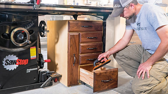 Table Saw Storage Cabinet (GFD)