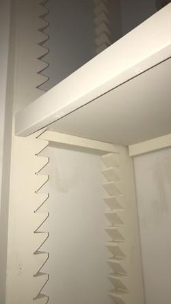 Sawtooth Shelves