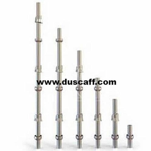 Barre Verticale Cuplock | 4 mm d'épaisseur | 1.0 mètre | Galvanisée