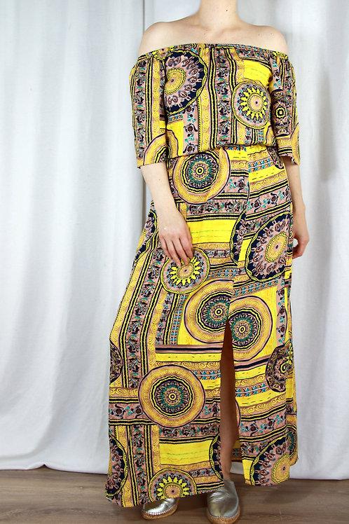Lotus Midi Dress