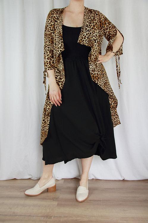 Vera Leopard Duster