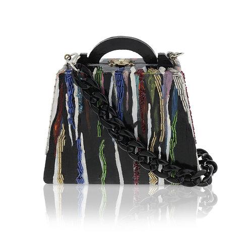 GOTHIC MANIA Woode Clutch / Cross-Body Bag