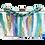 Thumbnail: (Alya's) Customized Pastel Splash Acrylic Clutch / Cross-body bag
