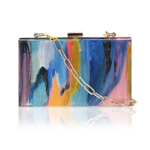 DARING Acrylic Clutch / Cross-Body Bag