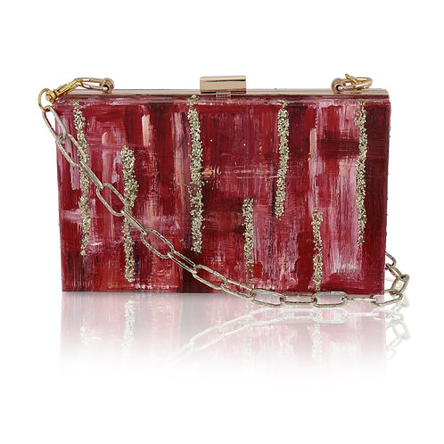 LOVE Acrylic Clutch /Cross-Body Bag