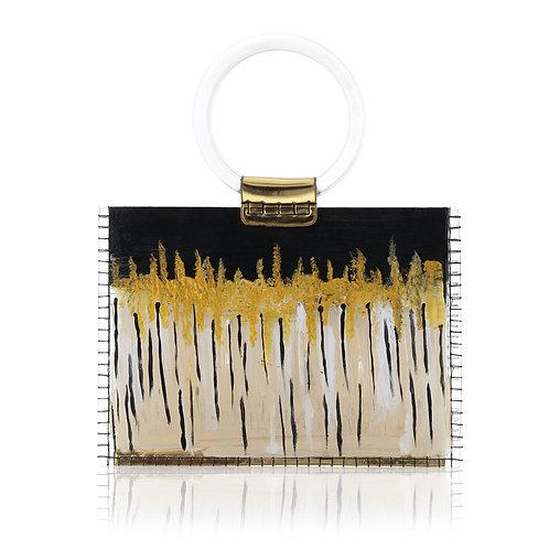 CARAMELLA Medium Acrylic Tote Bag