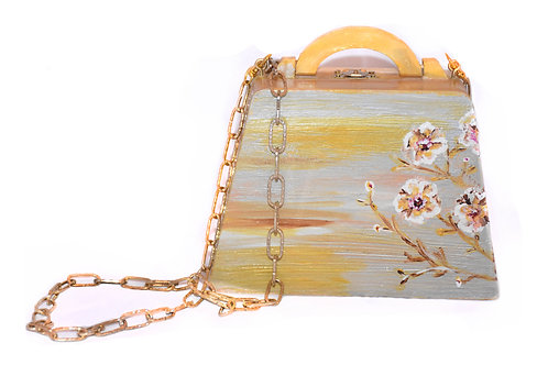 The Golden Weave Cross-Body Bag / Clutch