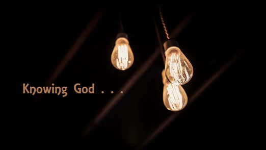 Knowing God (The Trinity)