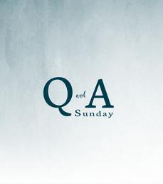Q&A Sundays