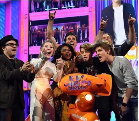 Henry Danger wins Kids Choice Award for Best TV Show
