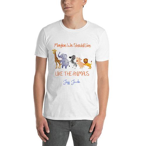 """Animals"" Short-Sleeve Unisex T-Shirt"