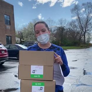 150 Masks Delivered to Medford Multicare Center on Long Island