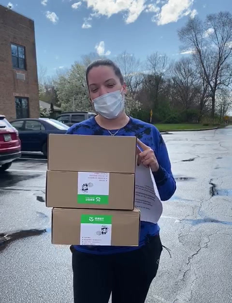 150 Masks Delivered to Medford Multicare Center on Long Island
