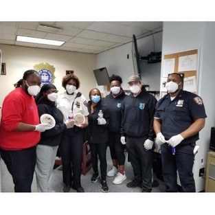 100 Masks Delivered to the Department of Corrections at Rikers Correctional Facility