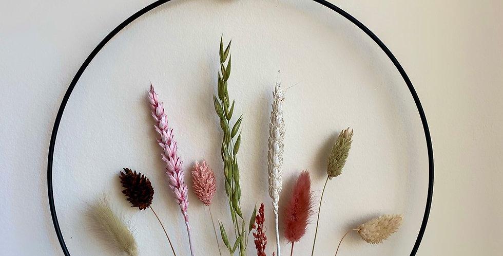 Hanger met droogbloemen - klein