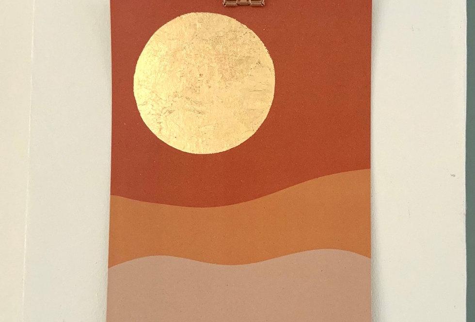 Desert poster A5