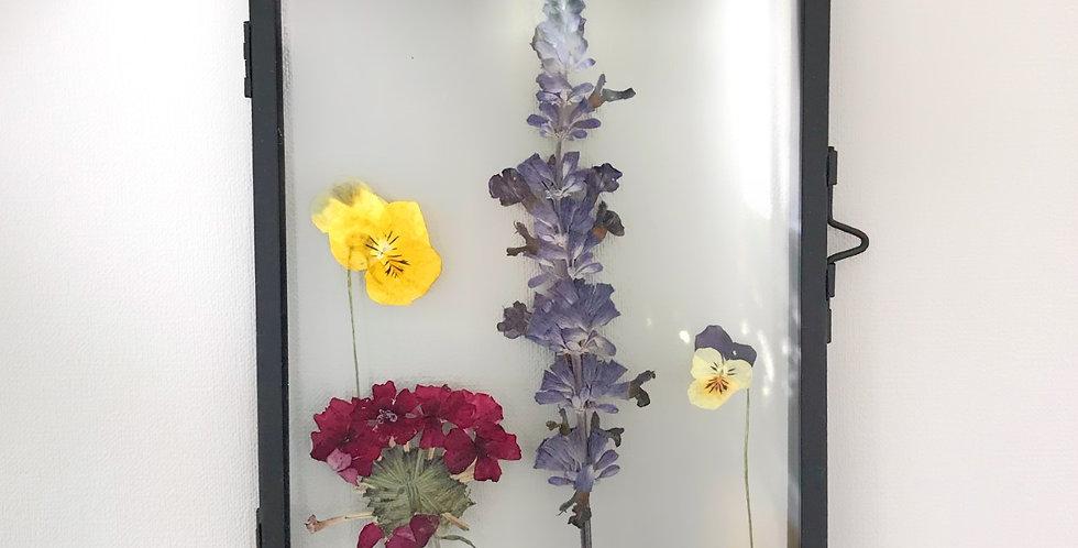 Fotolijstje met droogbloemen