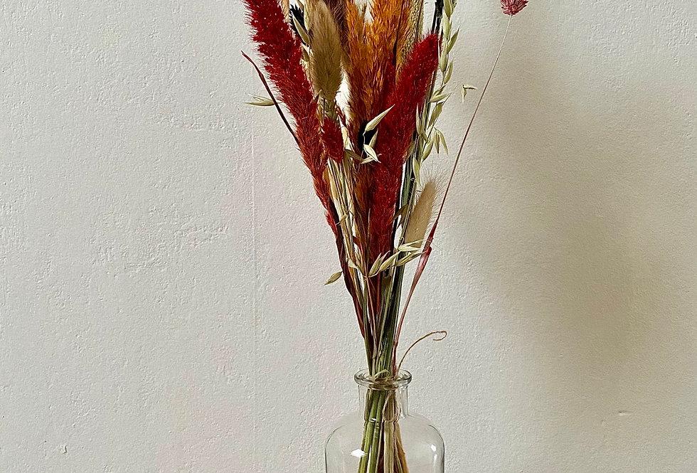 Bos droogbloemen - middel