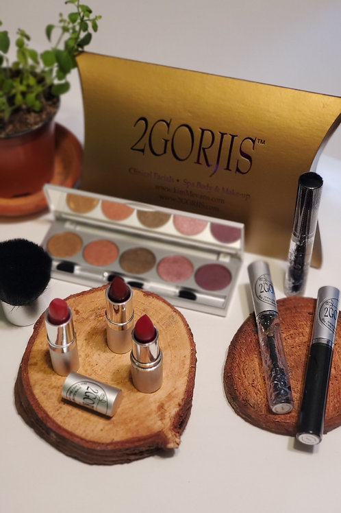 2GORJIS 24th Anniversary Ultimate Makeup Collection: 6-Piece Set