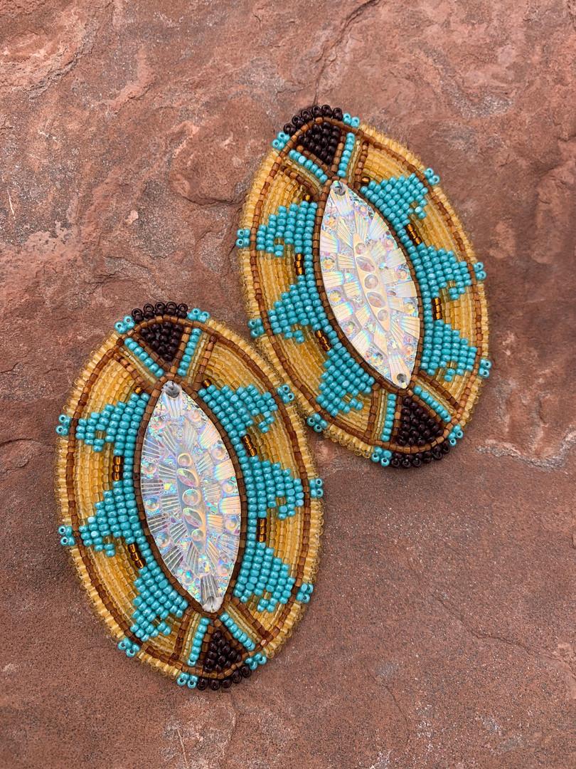 Hawaiian Wave Earrings