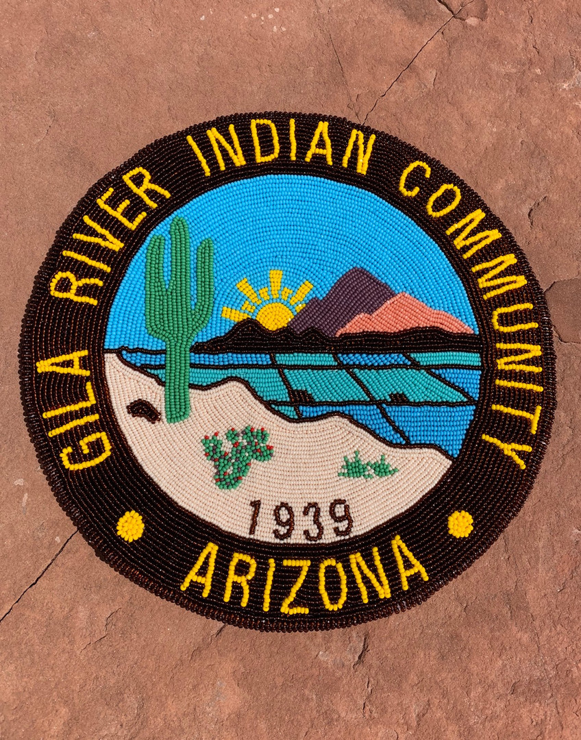 Gila River Indian Community Seal 8""