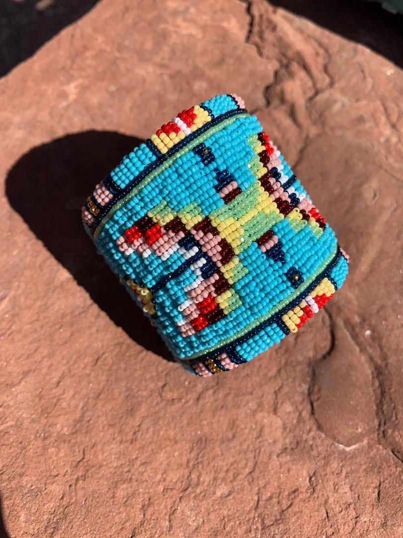 Lakota Styled Butterfly Cuff