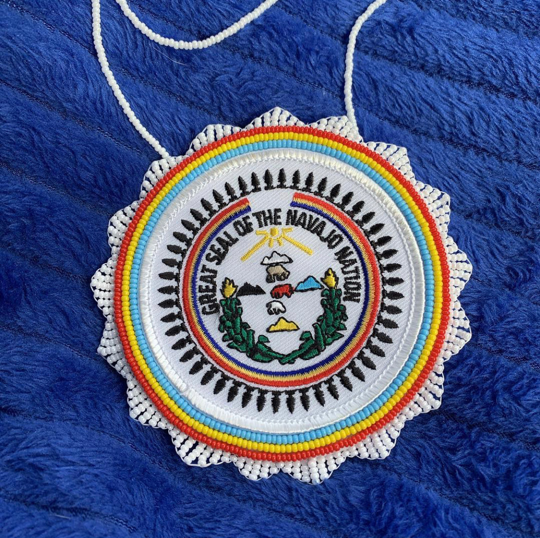 Navajo Seal Patch Pendant