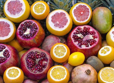 Os Benefícios das Frutas Cítricas.
