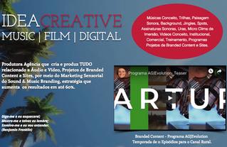 A IDEA CREATIVE MUSIC   FILM   DIGITAL Tá com jeito de Verão! Sinta e Confira os Jobs mais recentes.