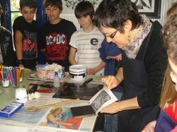 Visitas de estudantes