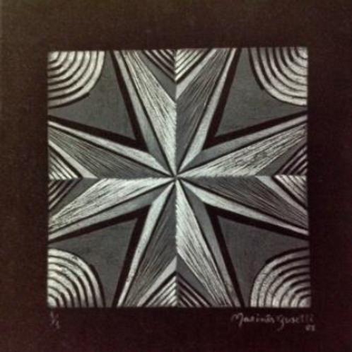 Estrela - Variação 1 - preta