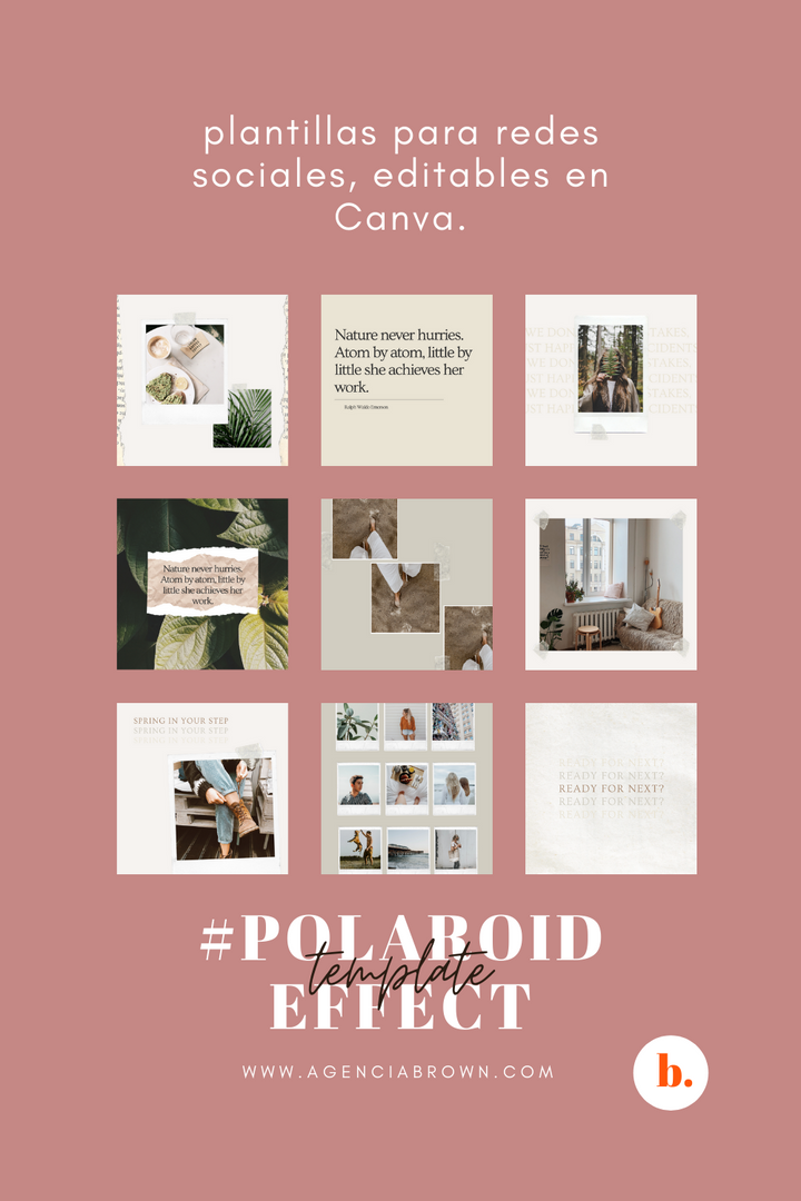 #PolaroidEffect Template